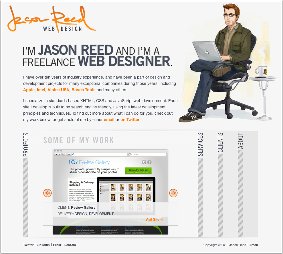 Jason Reed's Web Portfolio