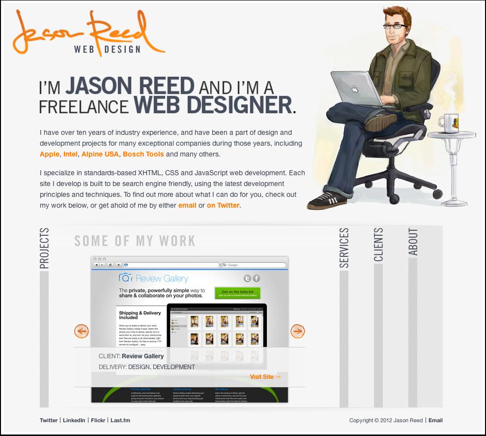 Jason Reed's Web Portfolio