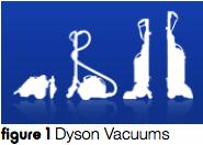 Dyson Vacuum Silhouettes